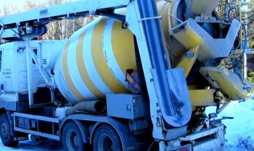 Concreting in winter conditions